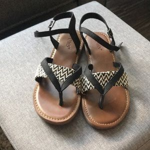 TOMS sandals. Women's size 7.5. NWOT